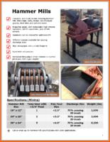 Hammer Mill Brochure