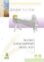 inclined screw dampener