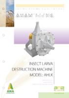 insect larva destruction machine