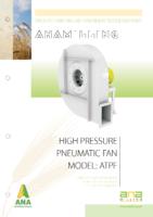 wentylator pneumatyczny wysoko ciśnieniowy